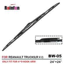 """2""""+ 24"""" щетка стеклоочистителя для грузовика с распылителем, подходит для грузовиков RENAULT(R.V.I), GAMME C, GAMME D, MASCOTT, MASTER, MIDLUM"""