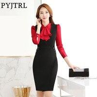 Zweiteiler frauen Herbst Weibliche Anzug Arbeitskleidung Büro Uniform Style Survêtement Femme Frauen Anzüge