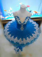 Adult ballet skirt suspenders tutu veil fall and winter clothes and costumes Swan Lake Palace