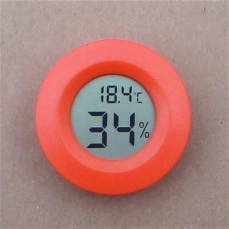Mini LCD Digitale Thermometer Hygrometer Temperatuur Meter Aquarium Koelkast Vriezer tester Temperatuur Vochtigheid Meter detector