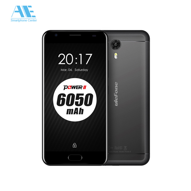 Original Ulefone Power 2 MT6750T Octa Core Android 7.0 5.5Inch 4GB RAM 64GB ROM Touch ID OTG Mobile Phone