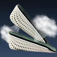 1 пара; 3 размера; мужские и женские стельки с воздушной подушкой; вставка на пятке; увеличивающая рост стелька для обуви