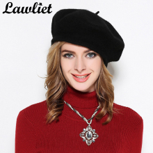 Women Beret Hats Adjustable Flate Top Wool Beret Hats for Women Autumn Winter Bonnet Casual Cap Young Girl Hats Feminina Cap Y63