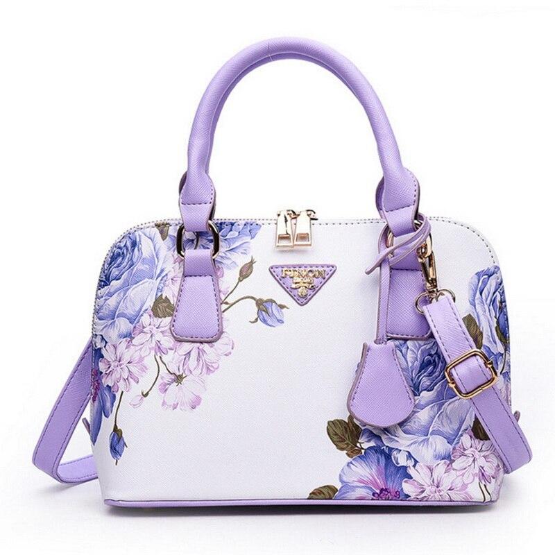 Laamei Fashion Women Bag Ladies' Genuine Handbag Shell Tote Shoulder Bag PU Message Bag for Women 2018 Bolsos Mujer
