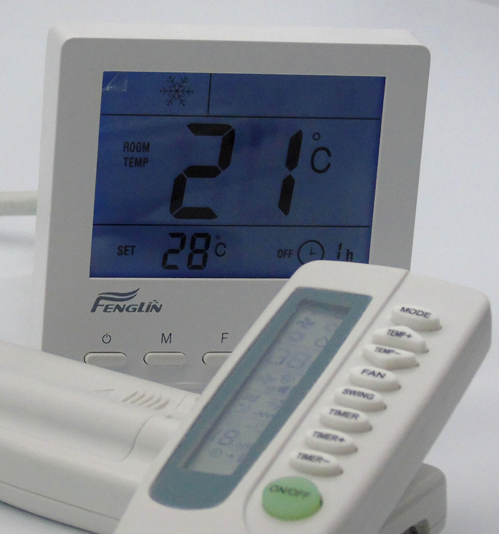 thermostat temperature controller with IR title=