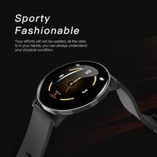 LIGE Sport Smart Bracelet Men Blood Pressure Heart Rate Monitor Fitness Tracker IP67 Waterproof Pedometer Watch