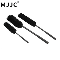 MJJC Brand 2017 Wooies Wheel Detailing Cleaning Brush 3 Pieces Kit With High Quality