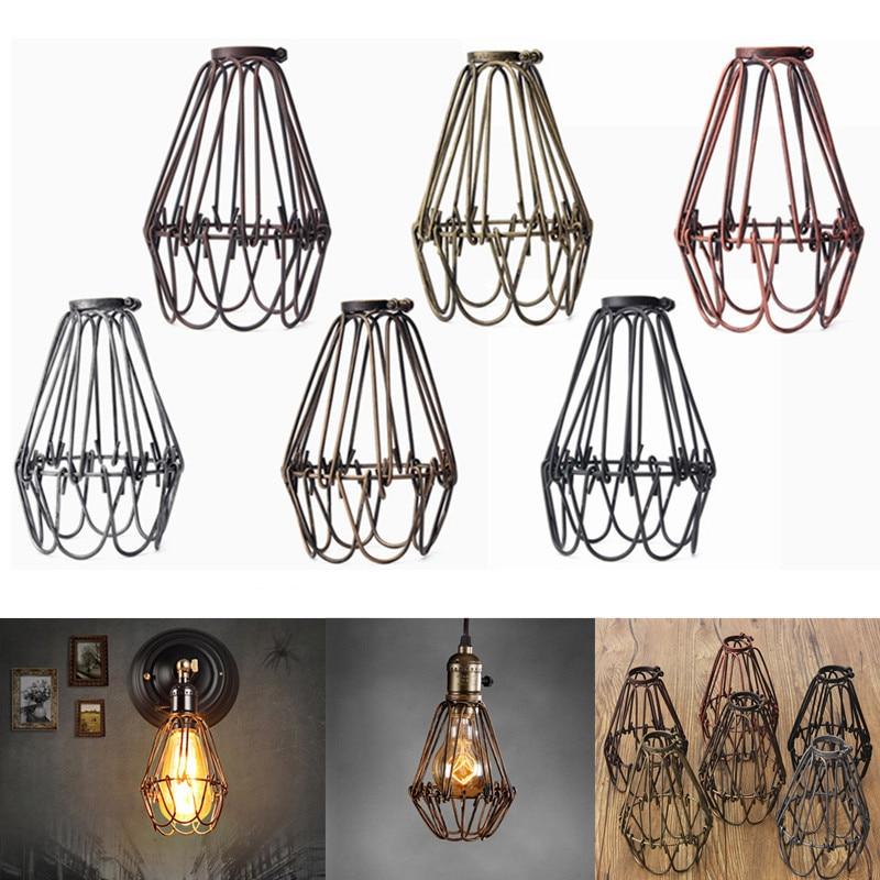 Retro Vintage Industrial Pendant Light Bulb Guard Wire
