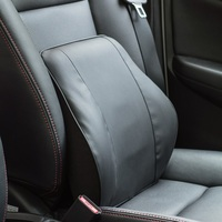 Auto Back Seat Supports Memory Cotton Seat Chair Waist Lumbar Office Home Support Cushion Interior Accessories