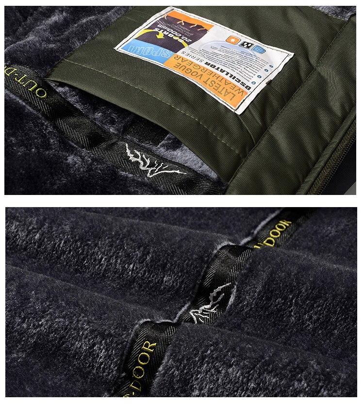 Winter Fleece Hiking Jackets Coat (17)