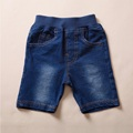 2016 Summer Boy Denim Shorts High Waist With Four Pockets Jeans Quality Children Denim Trousers LM50