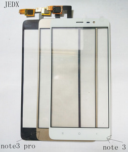 JEDX for Xiaomi Redmi Note 3 pro Note 4 Front glass Touch Screen Digitizer Panel Redmi note 2 Touchscreen Panel