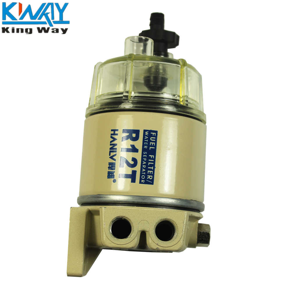 medium resolution of  free shipping king way for racor r12t marine spin on housing fuel filter