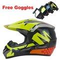 2016 Envío Libre de La Motocicleta casco de moto Casco de carreras de Motocross Downhill mountain casco Adecuado para kid DOT
