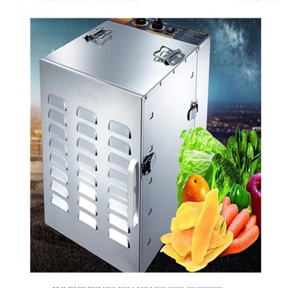 10 trays food dryer stainless steel fruit dehydrator vegetable drying machine 220V   ZF  цены