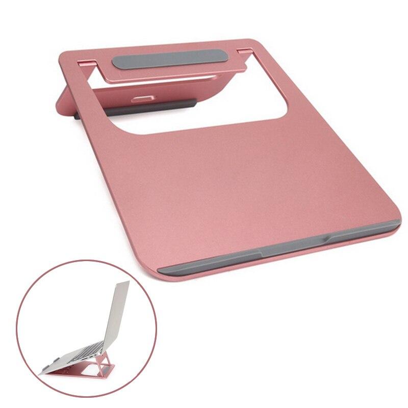 Портативный алюминиевого сплава ноутбука стенд стол Док Tablet держатель кронштейн ОХЛАДИТЕЛЬ охлаждающая подставка для MacBook Pro/Air/IPad /ноутбук ...