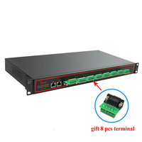 Industrial serial device rs232 rs485 rs422 to ethernet network converter