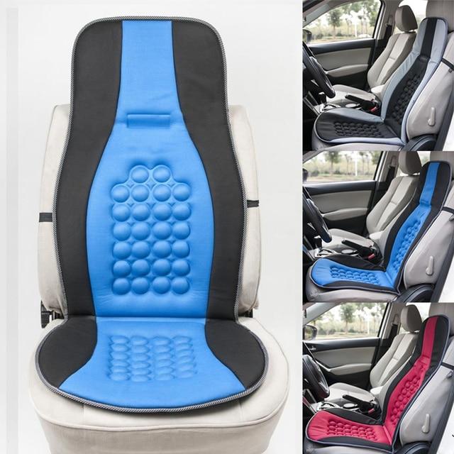 Car Vehicle Seat Cushion Magnet Round Bump Design Massage Function Pad Universal