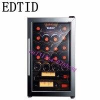 Edtid 62l Электрический охладитель вина Чай кабинет Чай холодильник охлаждения коробки постоянная температура