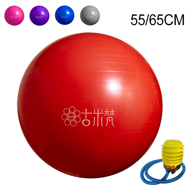 New Yoga Balls Gym Sports Pilates Fitness Ball Balance Fitball Exercise Workout Massage Ball 55cm 65cm