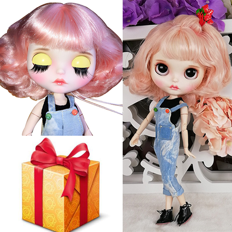 Good Quality Blyth 30CM 12 Body Joint Doll Freely Customized BJD Doll With Jeans Rompers And