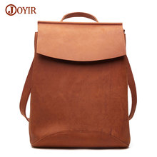 Joyir Women Genuine Leather Backpack Girls School Bag For Teenager Backpack Bags For Women School Leather Backpack Vintage 8625A