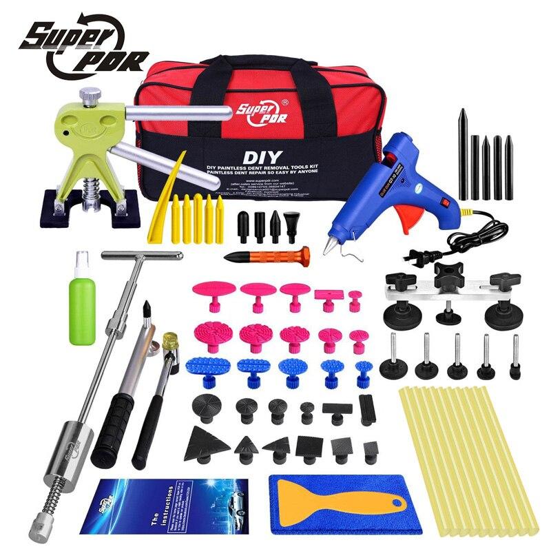 Super PDR car body dent repair dent removal tool set Car Hail Damage And Door Dings Repair Auto car body restore tool цена