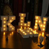 5 шт. N-Форма письмо ночник 3D Светодиодная лампа ночник шатер письмо подарок игрушки Украшения в спальню для детей