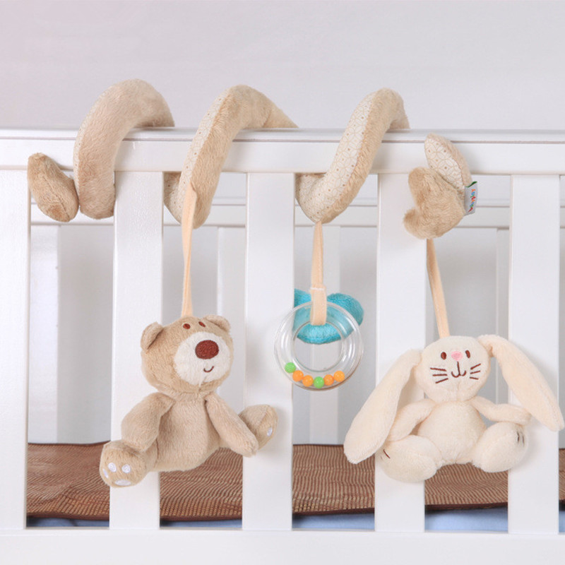 baby bedding set Bear rabbit newborn 0-1 year cot bed bumpers plush toys Stroller accessories crib sides decorations