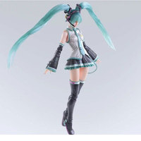 Cartoon Anime Model 28cm Hatsune Miku Nomura Tetsuya Action Figure PVC Collection Toys Children's Gifts