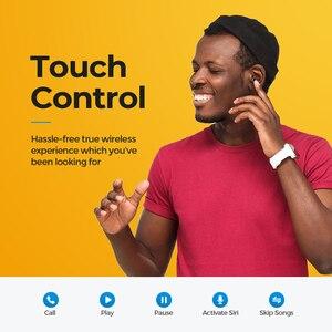 Image 5 - Mpow écouteurs Bluetooth T6 5.0 TWS, écouteurs sans fil, Mini oreillettes, IPX7, étanche avec 21 H, contrôle tactile