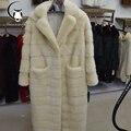 2016 Russo mulheres reais fur casacos de peles de Couro Genuíno, estilos casaco de vison, moda Slim Inverno casacos de pele, vender bem pele natural para inverno
