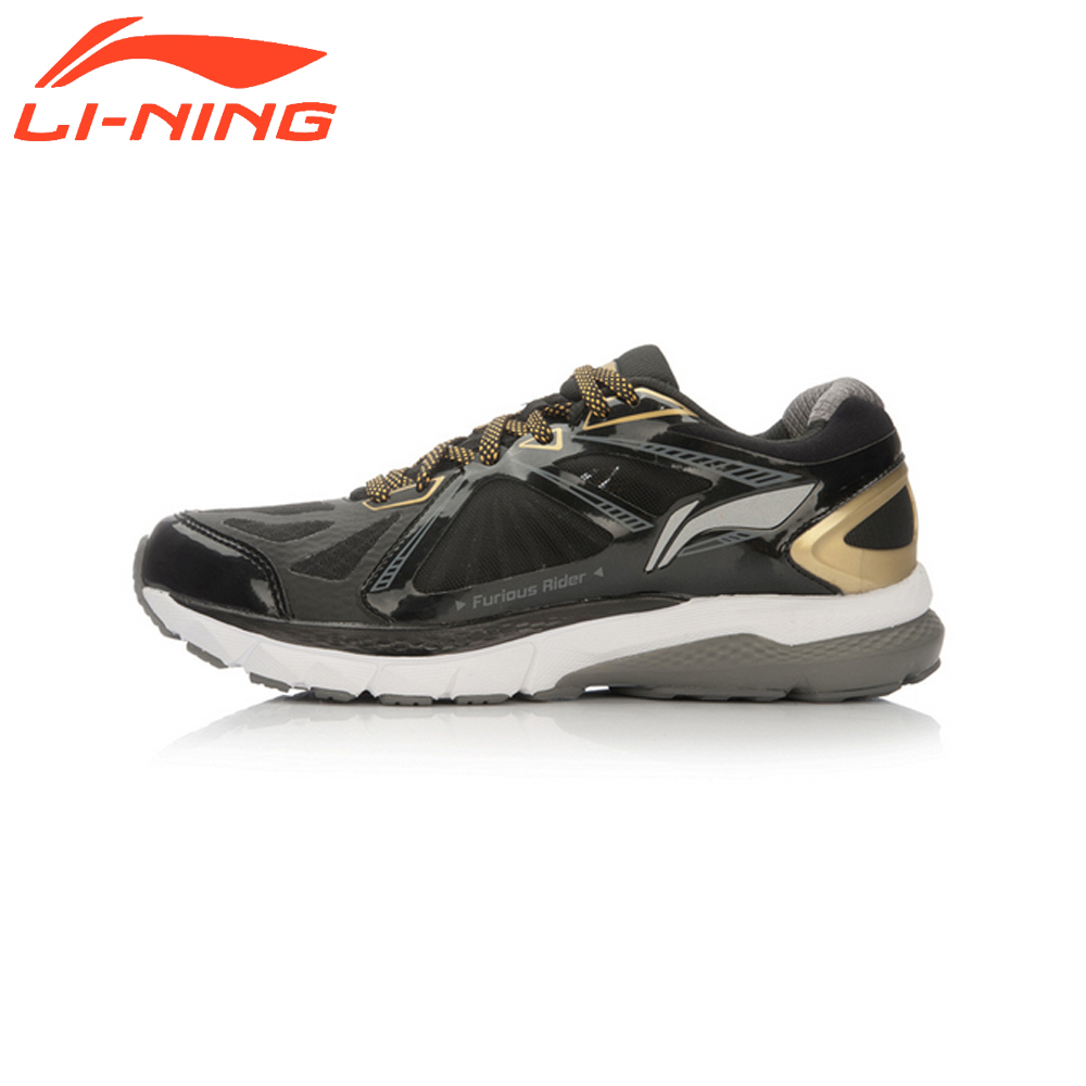Li-Ning Men's Smart Chip Running Shoes Furious Rider TUFF OS Stability Sneakers PROBARLOC Sports LiNing Original Shoes ARHL043 li ning men s smart running shoes furious rider tuff os stability sneakers probarloc lining sports shoes arhl043 xyp424