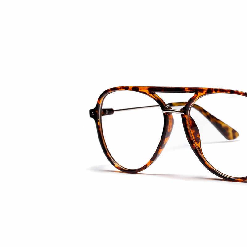 7d53739da2b ... Clear Lens Eye Glasses Frames For Men Women Retro Vintage Oval  Eyeglasses Titanium Fake Glasses Transparent ...