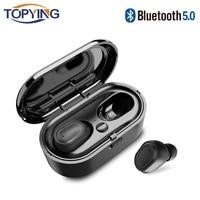 mini wireless bluetooth Mini TWS Wireless Bluetooth 5.0 Earphones sport Headphone Noise Cancelling Gaming Headset binaural call wireless for Smart Phone (1)
