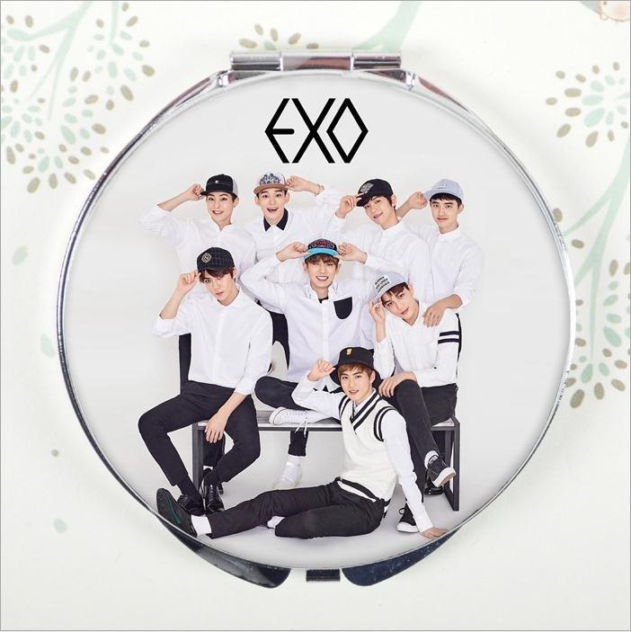 KPOP Ulzzang EXO NX ACT album style harajuku mirror Lay Sehun Chen Chanyeol Do Kai Baekhyun Suho Xiumin K POP K-POP coming over