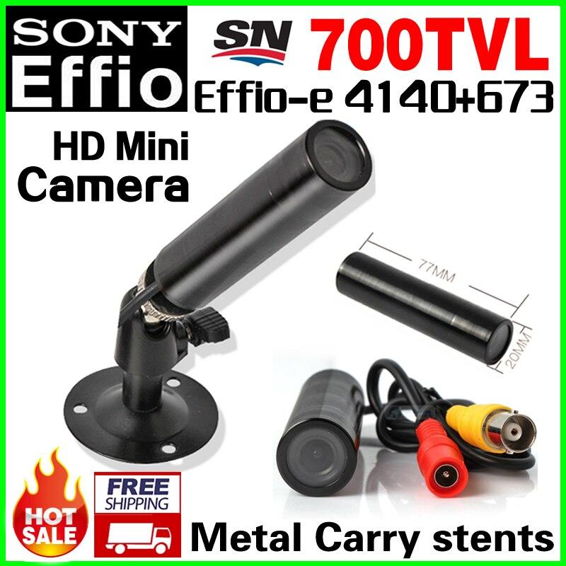 Countdown Sale! Mini Bullet 1/3Sony Sensor CCD Effio-e 4140+673 CCTV HD Camera 3.6MM LENS Waterproof ip66 metal with bracket экшн камера ridian bullet hd 3 mini