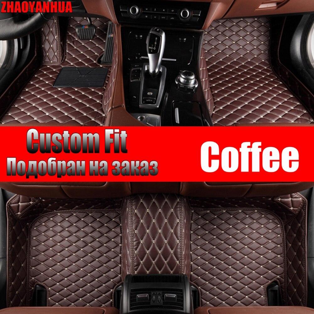 ZHAOYANHUA tapis de sol de voiture pour Mercedes Benz X156 classe GLA 45 AMG 180 200 220 250 robuste tapis tapis voiture-style pied cas