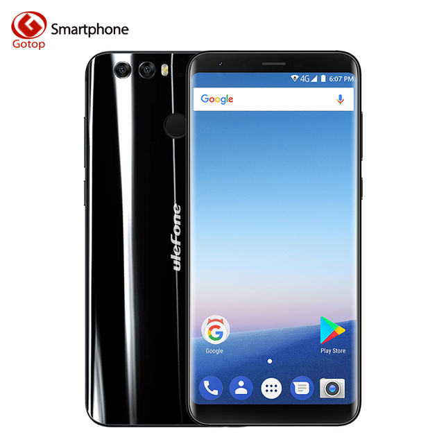 Ulefone Mix 2 MT6737H Quad Core 18:9 HD Screen 5.7 Inch Android 7.0 Smartphone 2GB RAM 16GB ROM Dual Back Camera 4G Mobile Phone