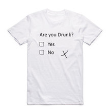 """Are You Drunk? Yes, No"" men's t-shirt"