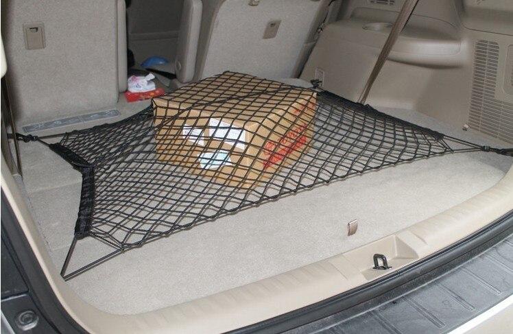 Car trunk net. Convenient for fixed goods. for Mitsubishi Grandis Outlander Pajero LancerEvo Eclipse FOR BMW AUDI KIA STICKER