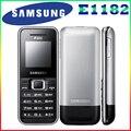 E1182 Оригинальный Разблокирована Dual Sim Карты Samsung E1182 телефон GSM900/1800 МГц мобильного телефона с Один год гарантии бесплатная доставка