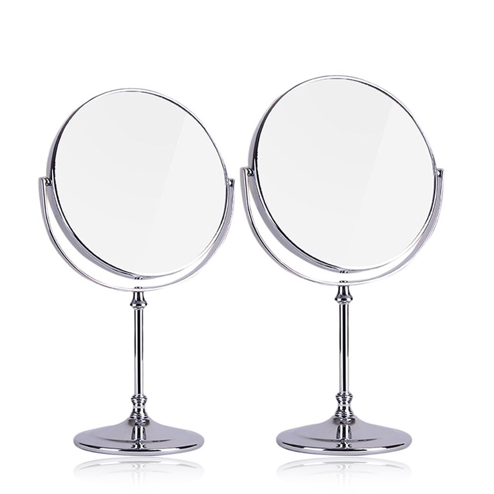 1 pcs new double sided high definition desktop mirror for Mirror definition