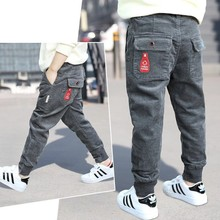 winter new fashion baby corduroy pants boys thicken solid trousers children keep warm bottoms child autumn spring pants