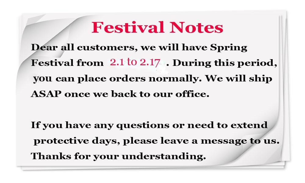 Festival notice