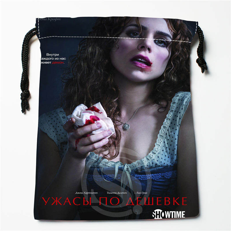 J&w78 New Penny Dreadful Season Custom Printed  Receive Bag Compression Type Drawstring Bags Size 18X22cm W725&s78DW