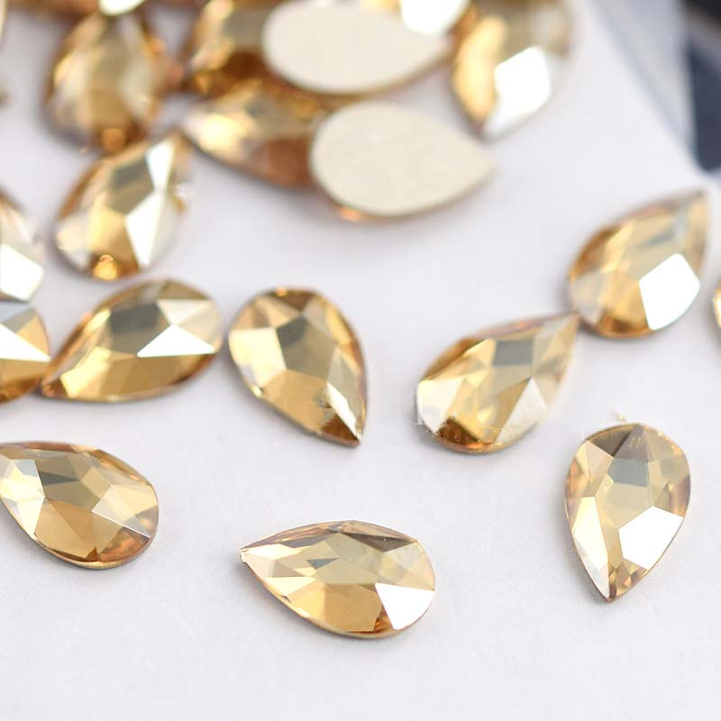 20PCs-5-8MM-Water-Drop-Teardrop-Glass-Rhinestone-Flatback-10-Colors-NEW-tear-drop-faceted-crystal (1)