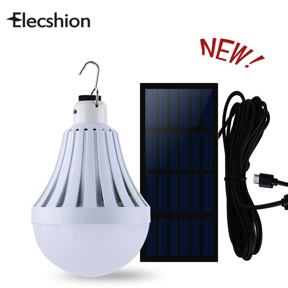 Elecshion Outdoor Lighting Led Solar Power System Lamp ...