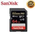 SanDisk Extreme Pro SD Card 32g SDHC cartao de me64g memory card128g tarjeta 256g SDXC UHS-I Class10 U3X V30 4K for Canon Camera