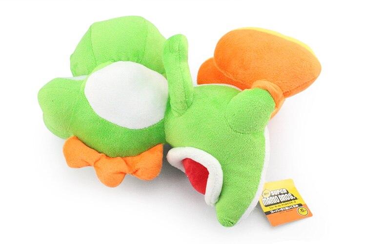 Super Mario Bros Йоши Плюшевые игрушки куклы с тегом мягкие Йоши кукла детский подарок 28 см